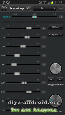 Взломанный JetAudio Plus для Андроид