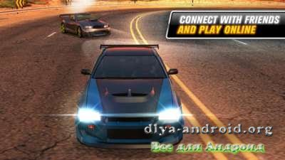 Взломанный Drift Mania: Street Outlaws на Андроид