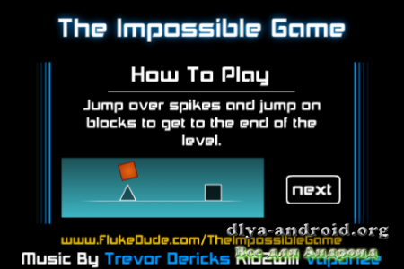 The Impossible Game версия: 1.5.2.