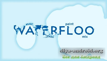 Живые обои Waterfloo: Liquid Simulation для Андроид