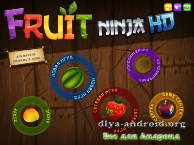 Fruit Ninja HD на компьютер – игра резать фрукты
