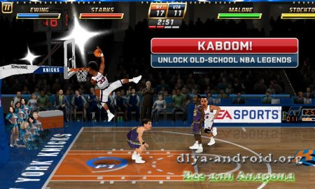 NBA JAM by EA SPORTS на андроид